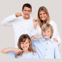 citrus heights dental family brushing teeth