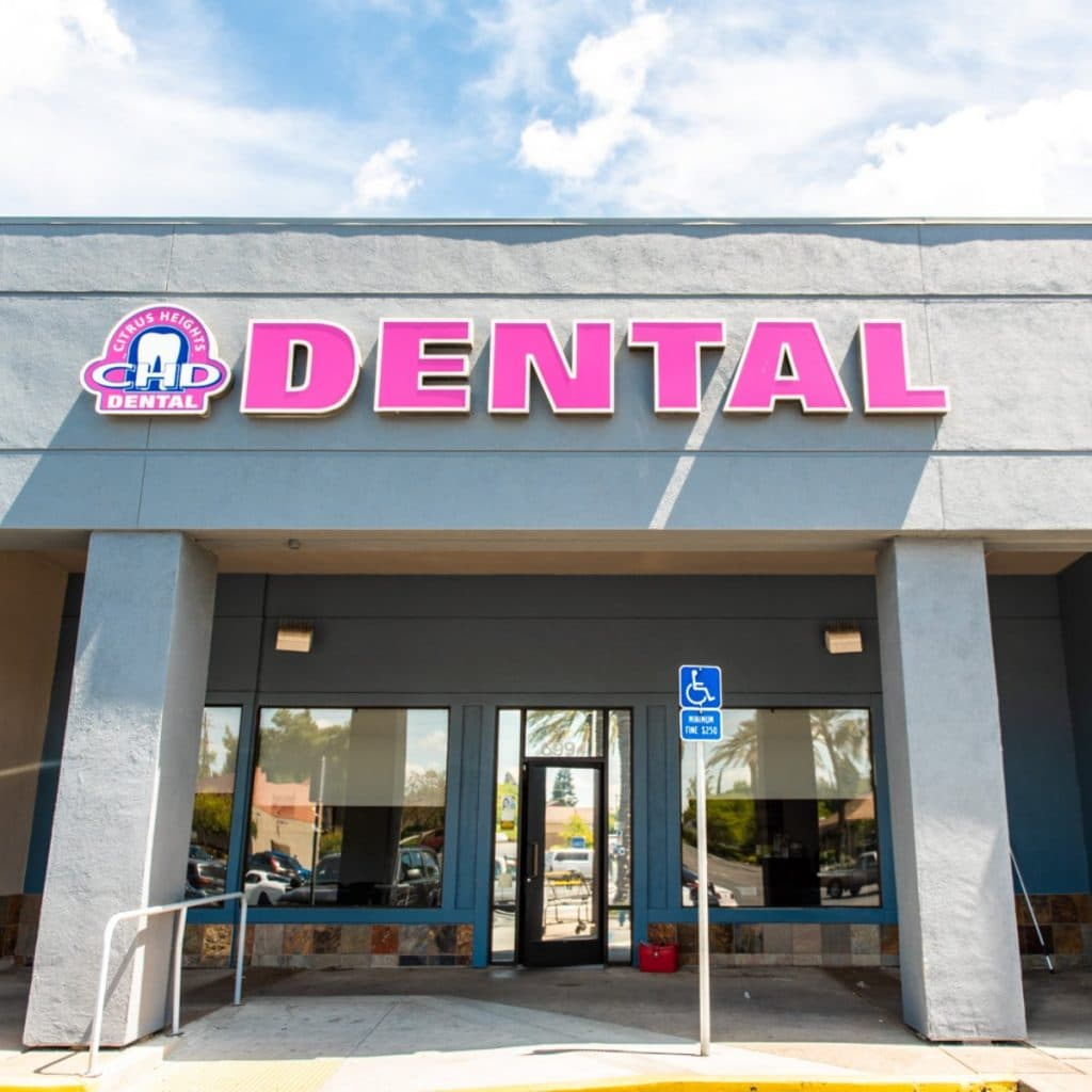 citrus heights dental storefront