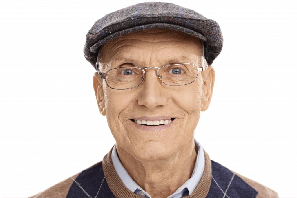 citrus heights dental dentures smiling male